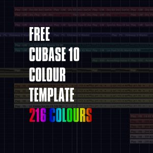 Cubase 10 template product