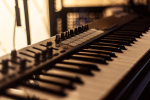 Sounds from the apartment midi keyboard