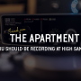Sounds from the apartment why you should be recording at high sample rates