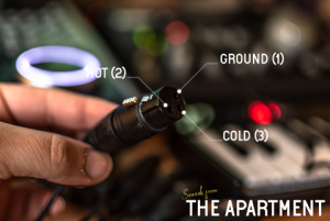 Sounds from the apartment cables female xlr