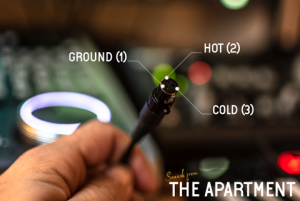 Sounds from the apartment cables female mini xlr