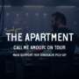 Sounds from the apartment article call me amour on tour