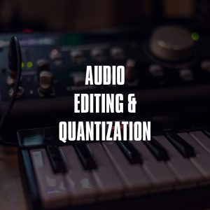 Audio Editing Quantization Services Product