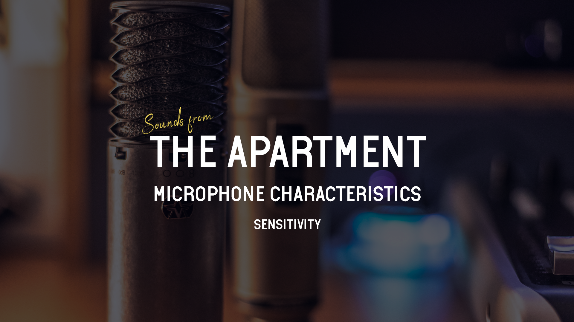 Sounds from the apartment article sensitivity