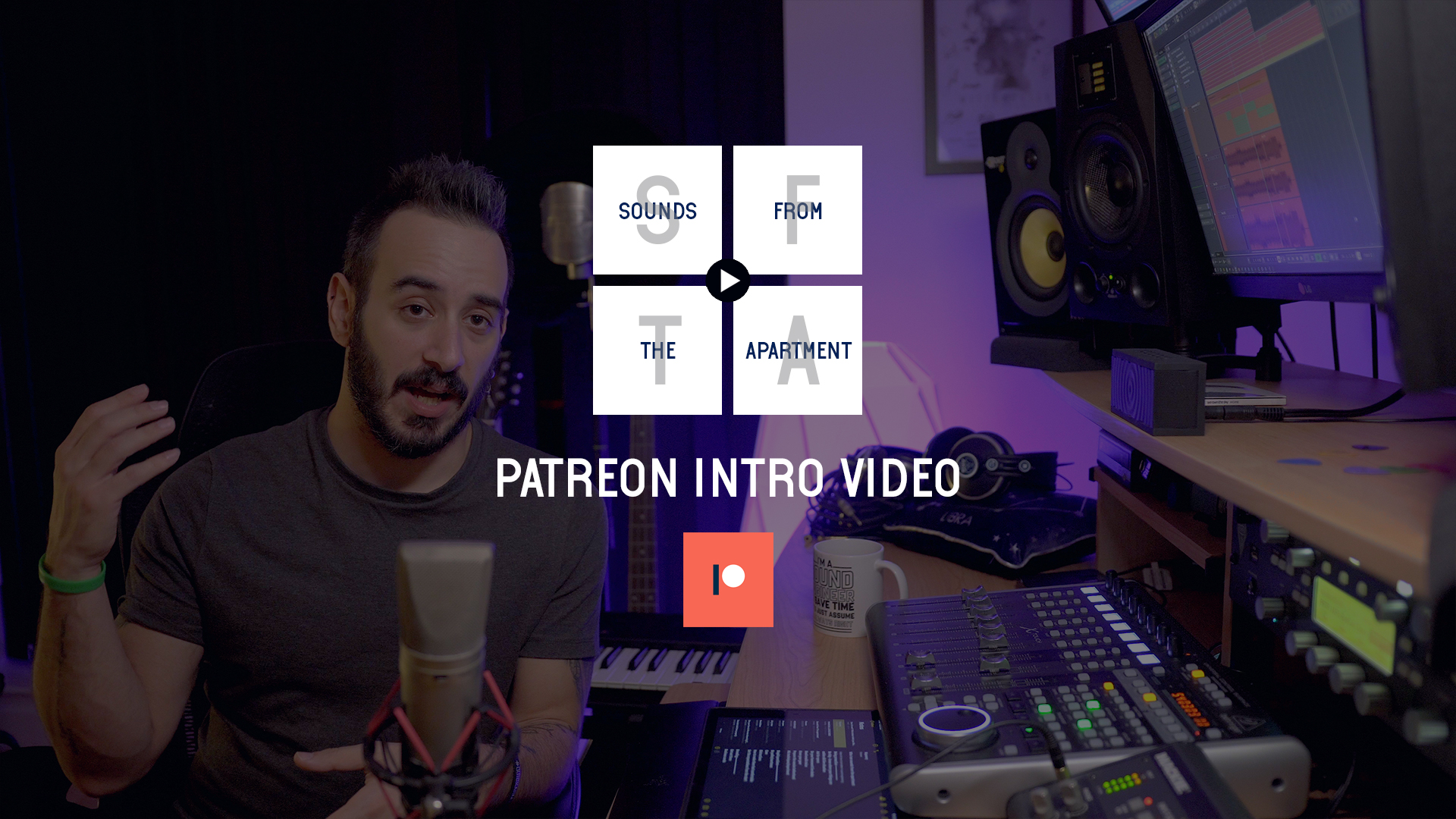 sounds from the apartment Patreon