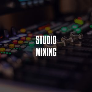Studio Mixing Service Product