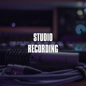 studio recording services product
