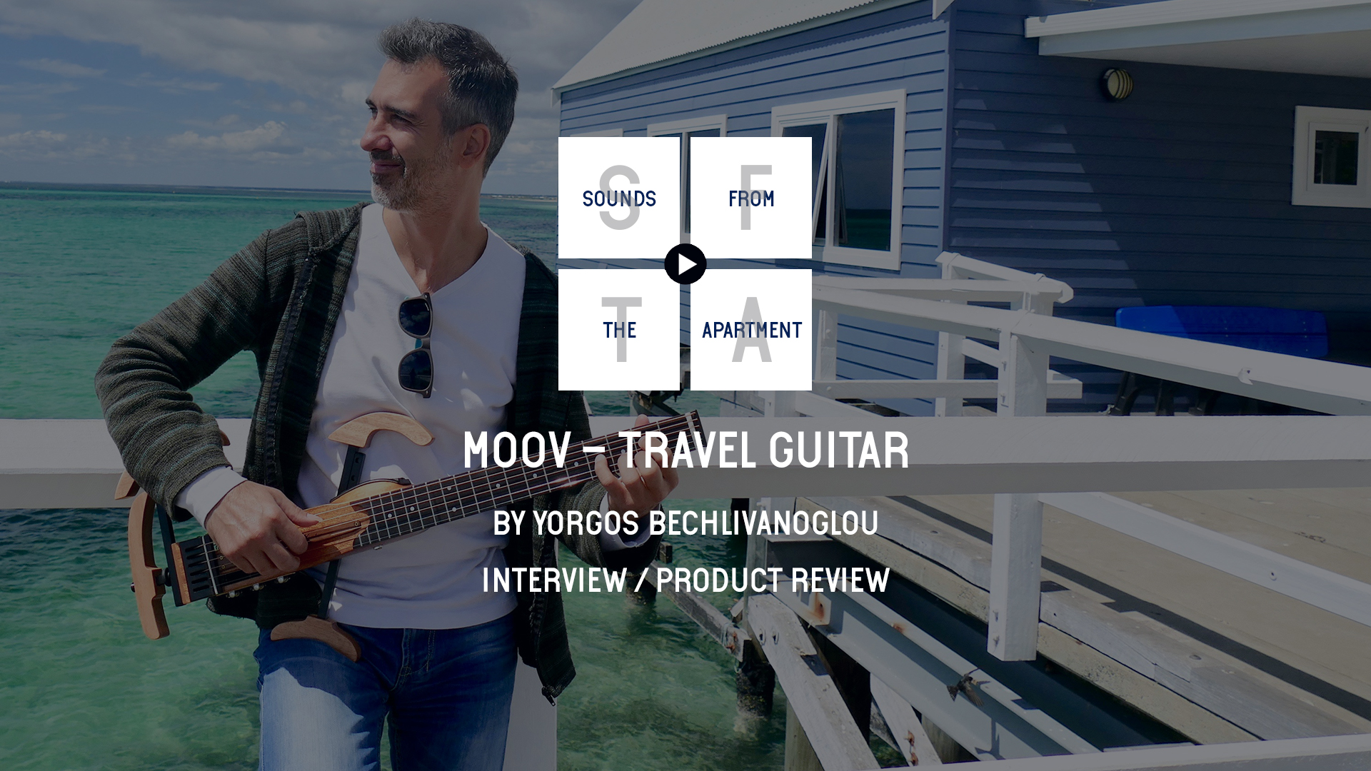 Moov travel guitar sounds fro mthe apartment yorgos bechlivanoglou