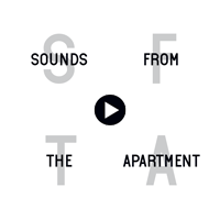 Sounds from The Apartment Square Logo White