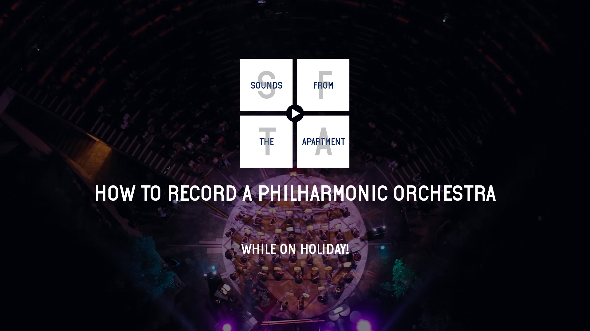 how to record to a philharmonic orchestra